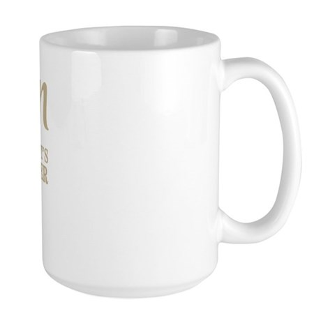 bacon it's what's for dinner Large Mug