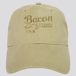 bacon it's what's for dinner Cap