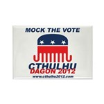 Mock the Vote Rectangle Magnet (10 pack)