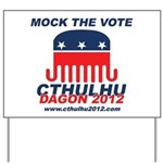 Mock the Vote Yard Sign