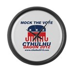 Mock the Vote Large Wall Clock