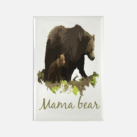 Mama Bear Fun Quote Magnets
