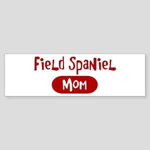 Field Spaniel mom Bumper Sticker