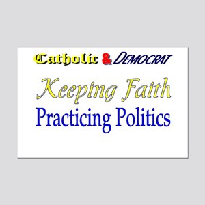 Keeping Faith Mini Poster Print