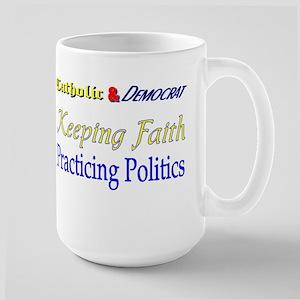 Keeping Faith Large Mug