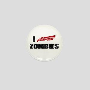 i shotgun zombies Mini Button