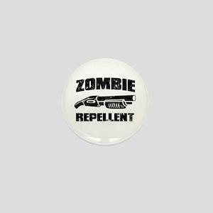 shotgun zombie repellent Mini Button
