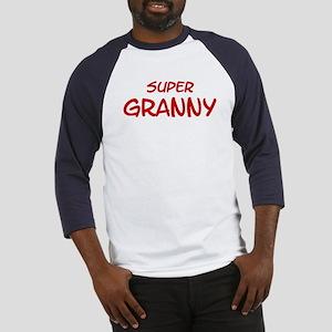 Super Granny Baseball Jersey