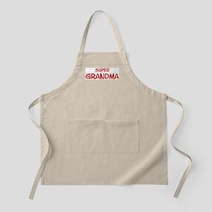 Super Grandma BBQ Apron