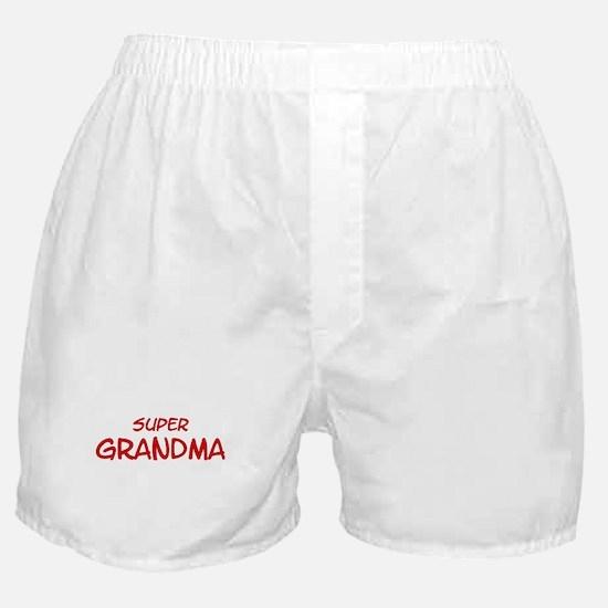 Super Grandma Boxer Shorts