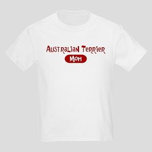 Australian Terrier mom Kids Light T-Shirt
