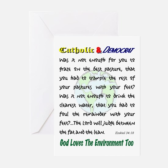 God Loves the Environment Cards (Pk of 10)