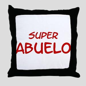Super Abuelo Throw Pillow
