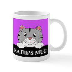 Cartoon Cat Mug Mugs
