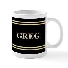 Personalized Metallic Gold Ceramic Mug Mugs