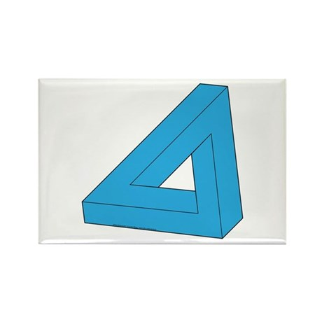 Optical Delusion Rectangle Magnet (10 pack)