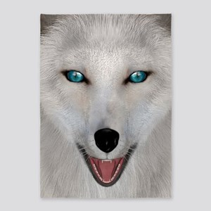 Arctic Fox 5'x7'Area Rug