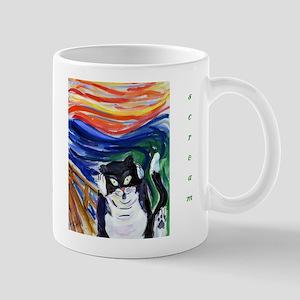 Kitty Scream Mug Mugs