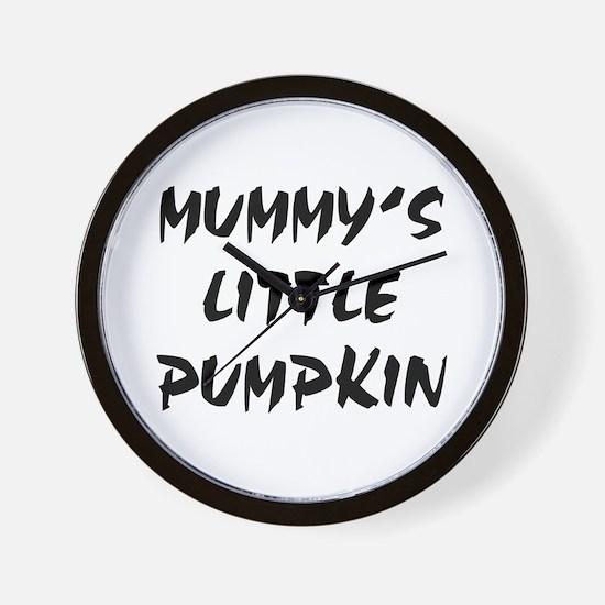 MUMMY'S LITTLE PUMPKIN! Wall Clock
