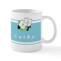 Personalized Flower Mug Mugs