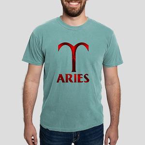 Red Aries Symbol T-Shirt