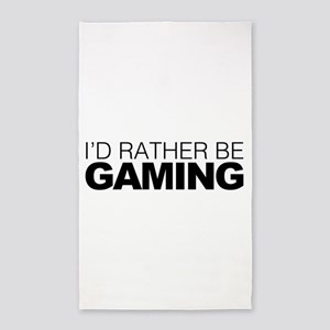 Id rather be Gaming Area Rug