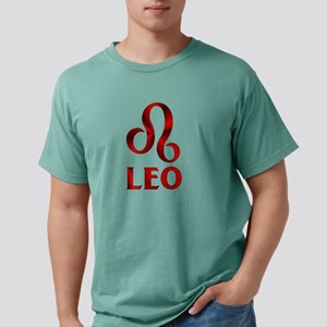 Red Leo Symbol Mens Comfort Colors® Shirt