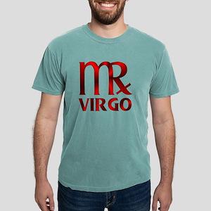 Red Virgo Symbol Mens Comfort Colors® Shirt