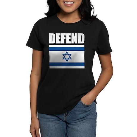 Defend Israel Women's Dark T-Shirt