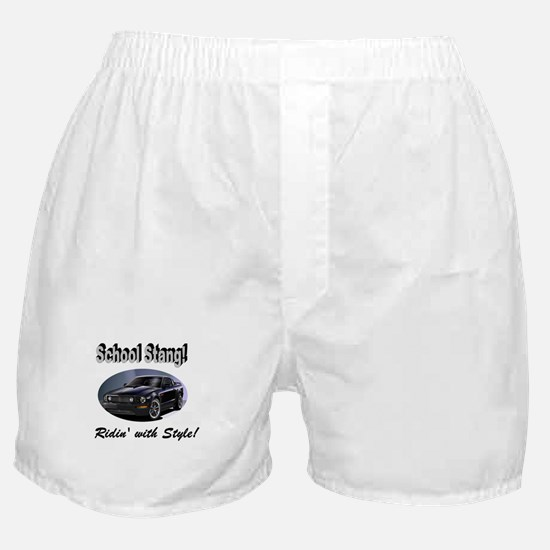 School Stang Boxer Shorts