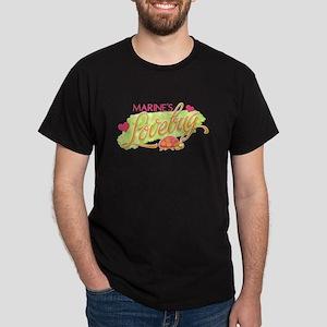 Marine's Lovebug Dark T-Shirt
