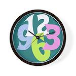 Big Number Clock 1 Wall Clock