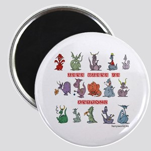 "Dragons 2.25"" Magnet (10 pack)"