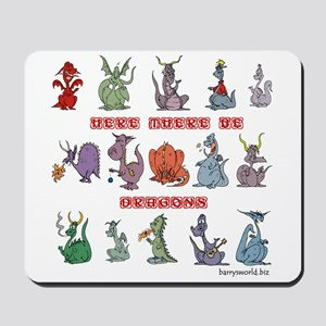 Dragons Mousepad