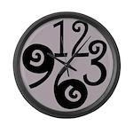 Big Number Clock 2 Large Wall Clock