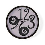 Big Number Clock 2 Wall Clock