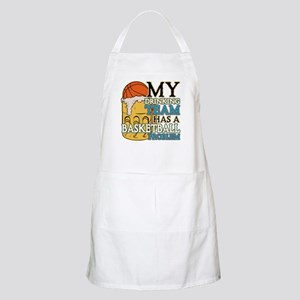 Basketball Drinking Team BBQ Apron