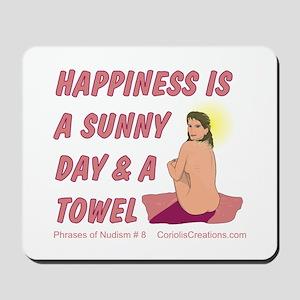 Sun & Towel - Mousepad