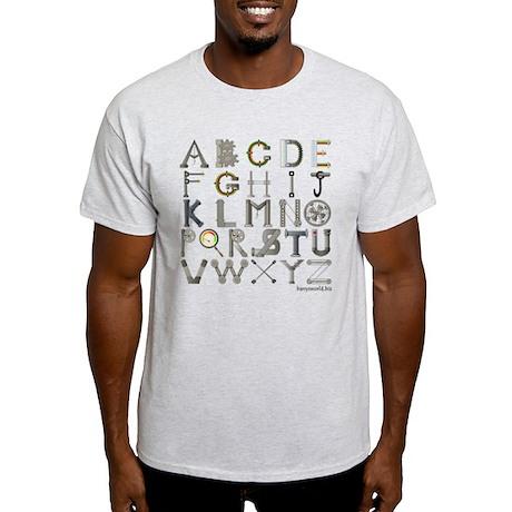 Mechalphabet Light T-Shirt
