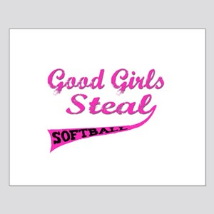 Good Girls Steal (urban pink) Small Poster