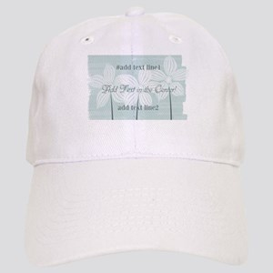 Cool Gardener Floral Mint Baseball Cap