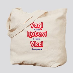 Veni. Natavi Vici Tote Bag