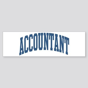 Accountant Occupation Collegiate Style Sticker (Bu