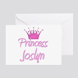 Princess Joslyn Greeting Card