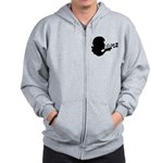 Blowing Kisses Zip Hoodie