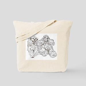 Christine Walters Cocker Buddies Tote Bag
