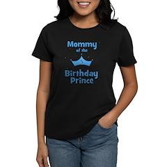 Mommy of the 5th Birthday Pri Women's Dark T-Shirt