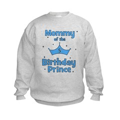 Mommy of the 5th Birthday Pri Sweatshirt