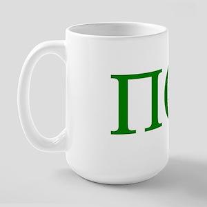 PI OMEGA TAU (POT) Large Mug