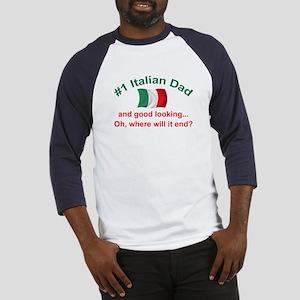 Good Looking Italian Dad Baseball Jersey